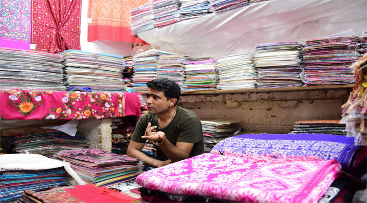 Interviewing Kashmiri Muslim Shopkeeper