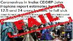 FAKE ALERT: Media reports claim 40 crore Indians will contract coronavirus, falsely attribute it to John Hopkins university