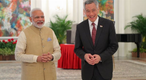 PM Modi discusses Covid-19 situation with Singapore PM Lee