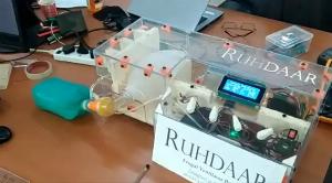 Covid-19:Kashmir university students build low cost ventilator