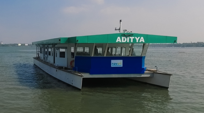 India's first solar ferry shortlisted for French Award