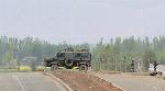 Div com reviews the progress of work on Srinagar-Baramulla Highway
