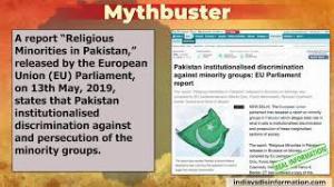 Pakistan's role in institutionalizing discrimination against minorities exposed