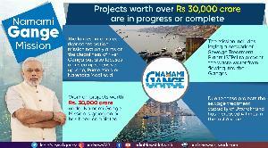 El primer ministro Modi inaugura seis mega proyectos bajo la misión Namami Gange en Uttarakhand