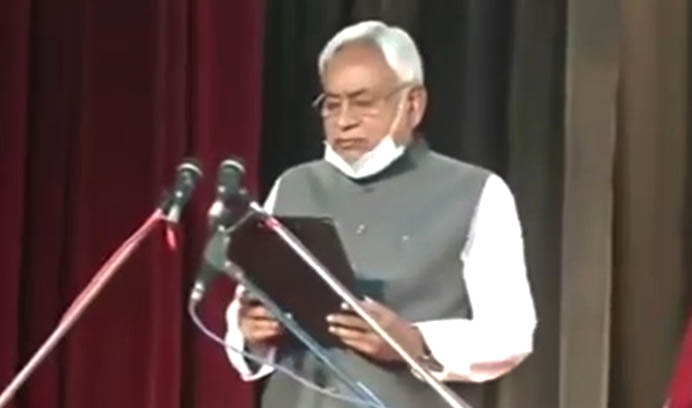 Nitish Kumar sworn in as Bihar Chief Minister for fourth consecutive term