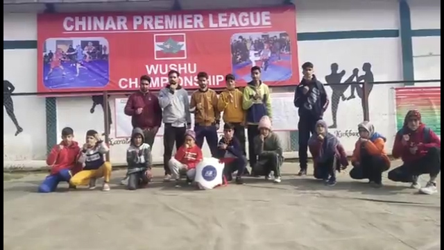 3-day Chinar Martial Arts Wushu Championship organized by Indian Army