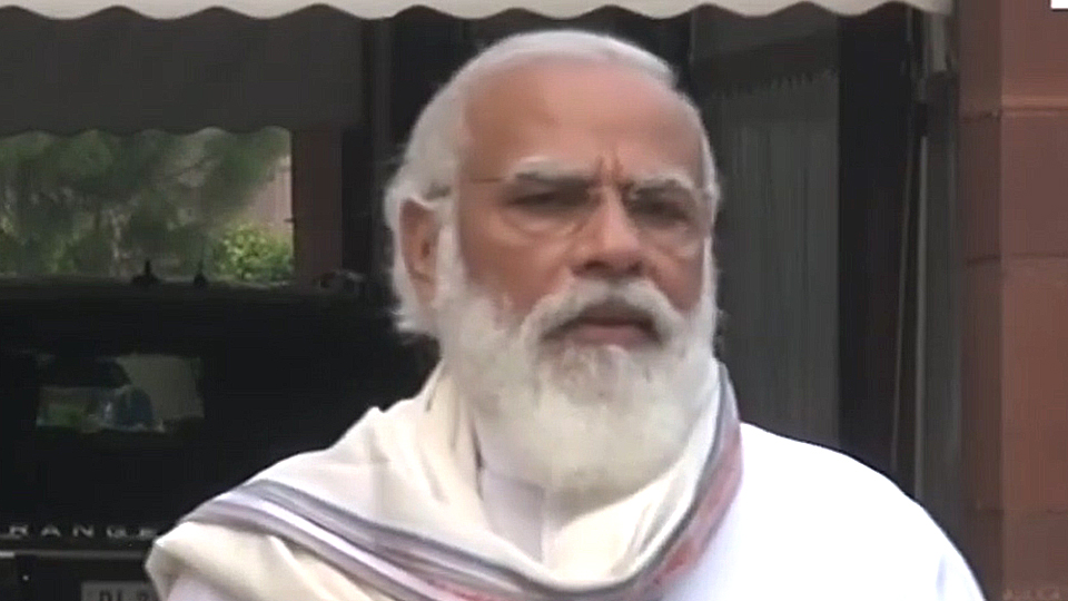 PM Modi seeks Parliament's support for the armed forces
